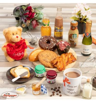 Desayuno a domicilio Especial Romántico