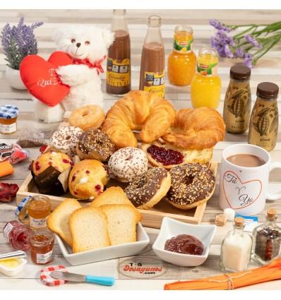 Desayuno a domicilio Te quiero