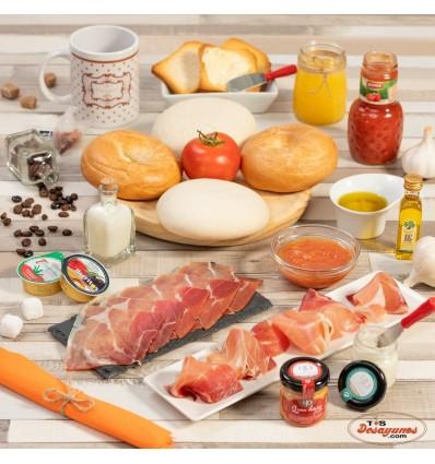 Desayuno a domicilio Ibérico