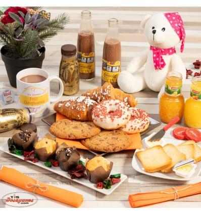 Desayuno a domicilio Felicidades