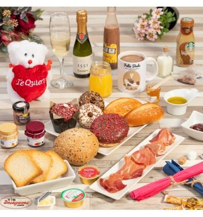 Desayuno a domicilio Especial Feliz Boda