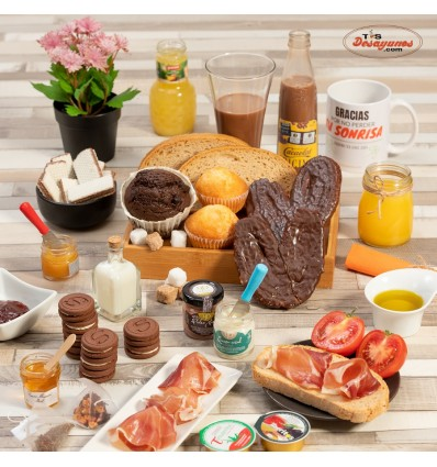 Desayuno a domicilio Especial Celíacos