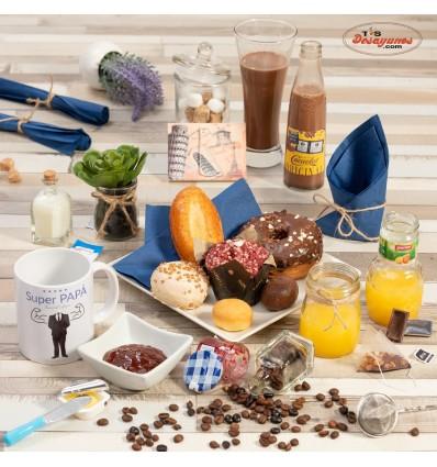 Desayuno a domicilio Feliz día del Padre - Dulce