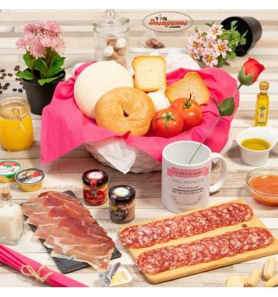 Desayuno a domicilio Feliz día de la Madre - Ibérico