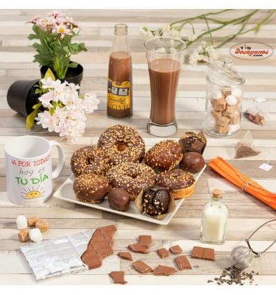 Desayuno a domicilio Delicias de chocolate