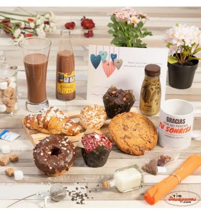 Desayuno a domicilio Chocolate Gourmet
