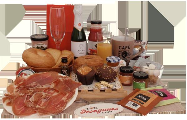 Desayunos gourmet a domicilio