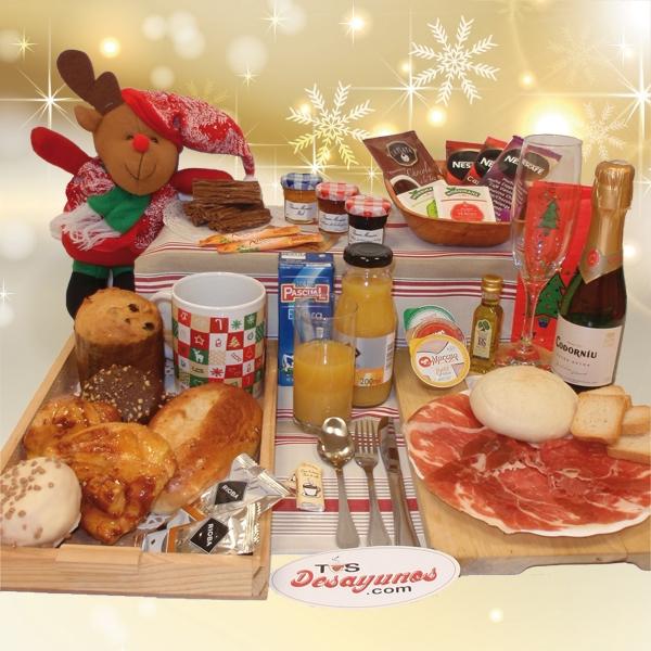 Desayuno a domicilio Navidad