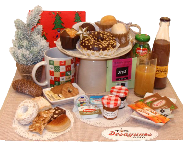 Regalos originales navideos no hay excusas para no envolver los regalos de navidad ms bonitos y - Regalar desayuno a domicilio madrid ...