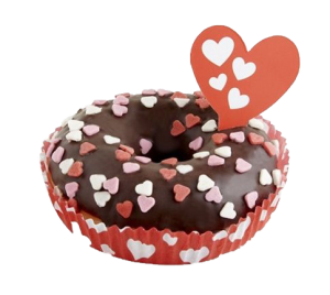 Dots corazones romántico