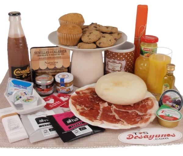 Desayunos sin azúcar a domicilio