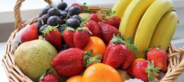 Cesta fruta-desayunos sorpresa