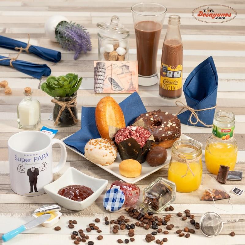 desayuno dia del padre dulce